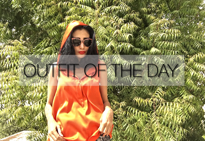 ORANGE IS THE COLOUR OF THE DAY