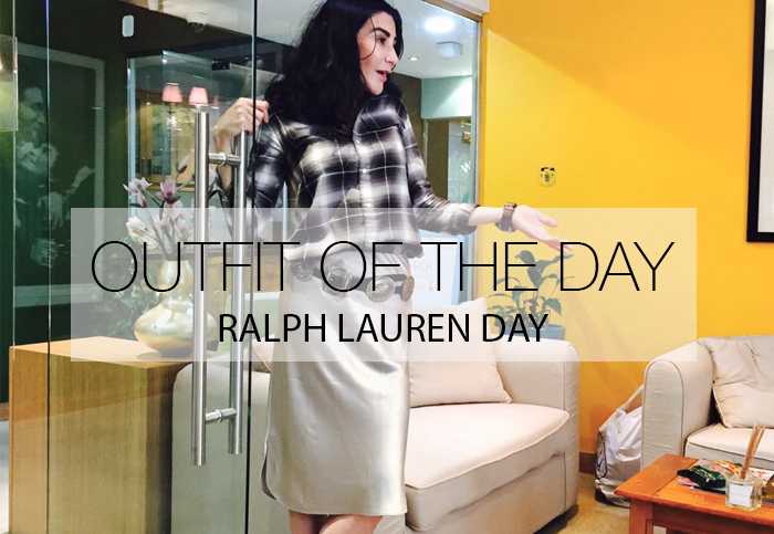 RALPH LAUREN KINDA DAY